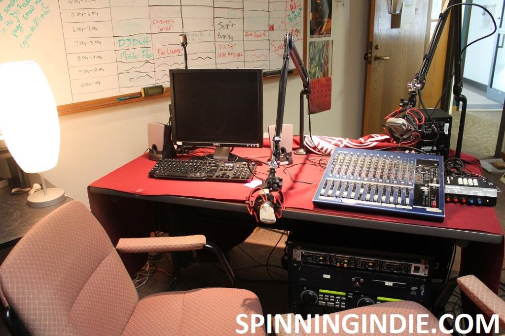 Bellarmine Radio studio