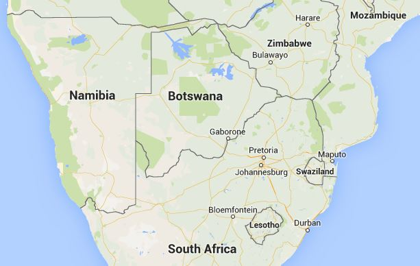 Botswana South Africa Map.Botswana Debates Whether Community Radio Encourages Tribalism