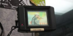 video monitor at WHBC