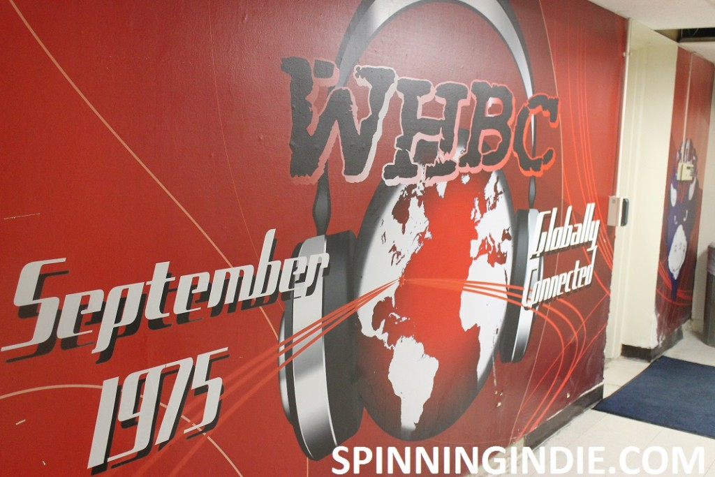 WHBC mural outside the Howard University college radio station