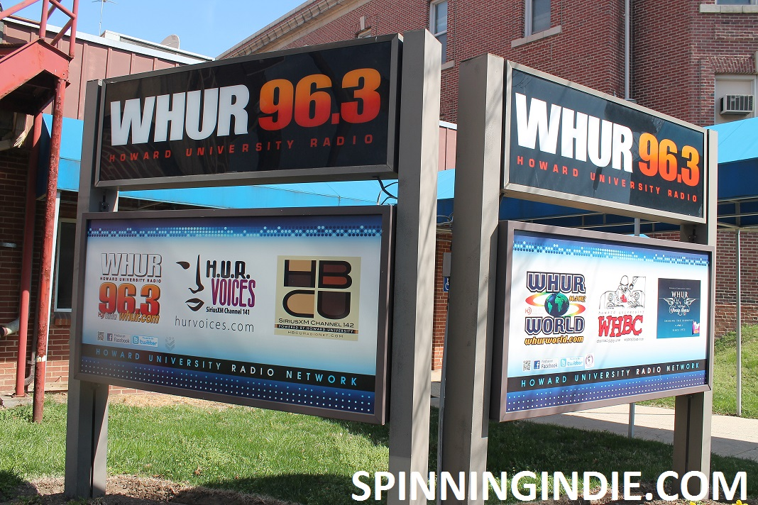 Touring College Radio Station WHBC at Howard University