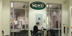 view of outside of college radio station WGMU