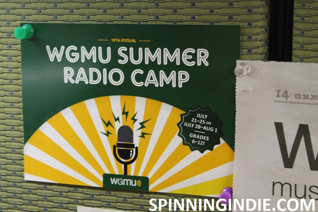 postcard for WGMU summer camp