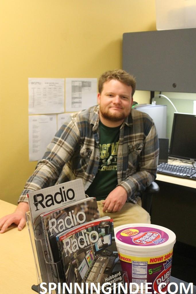 WGMU programming director Jesse Robinson