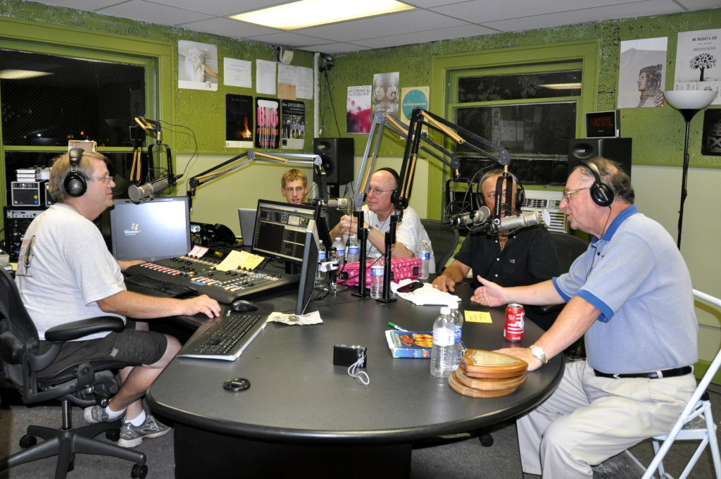 WIUS reunion 2013 - alumni reminisce in studio