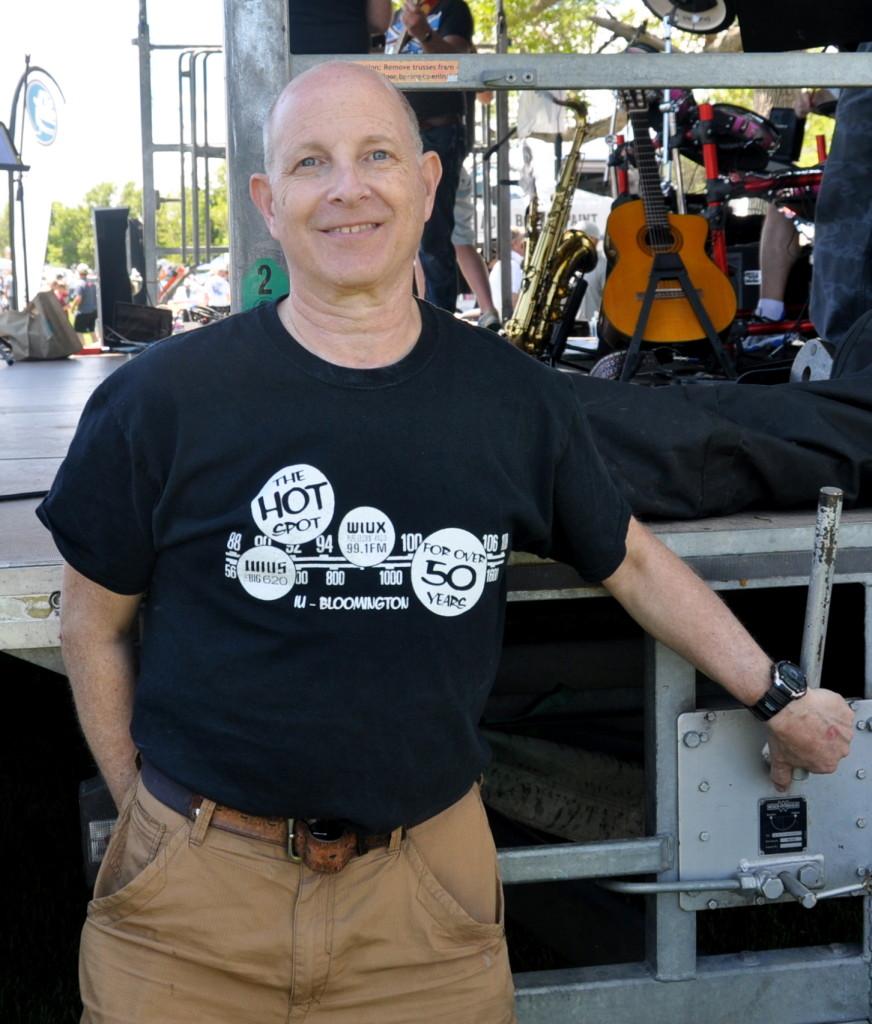 Greg Barman at WIUX-LP
