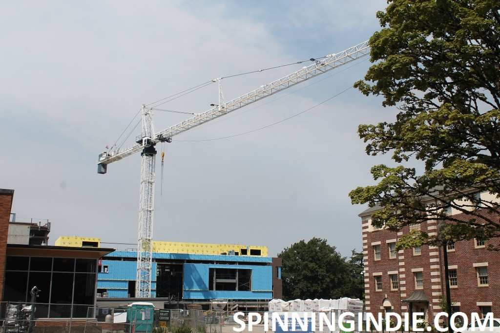 construction at University of Oregon