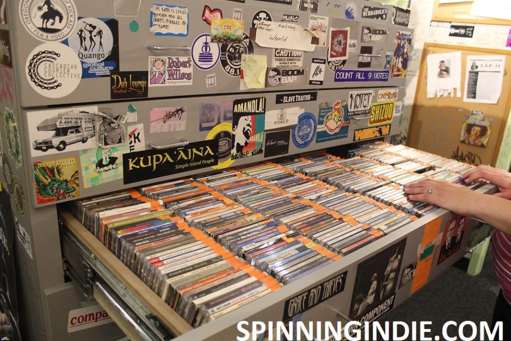 CDs at KWVA