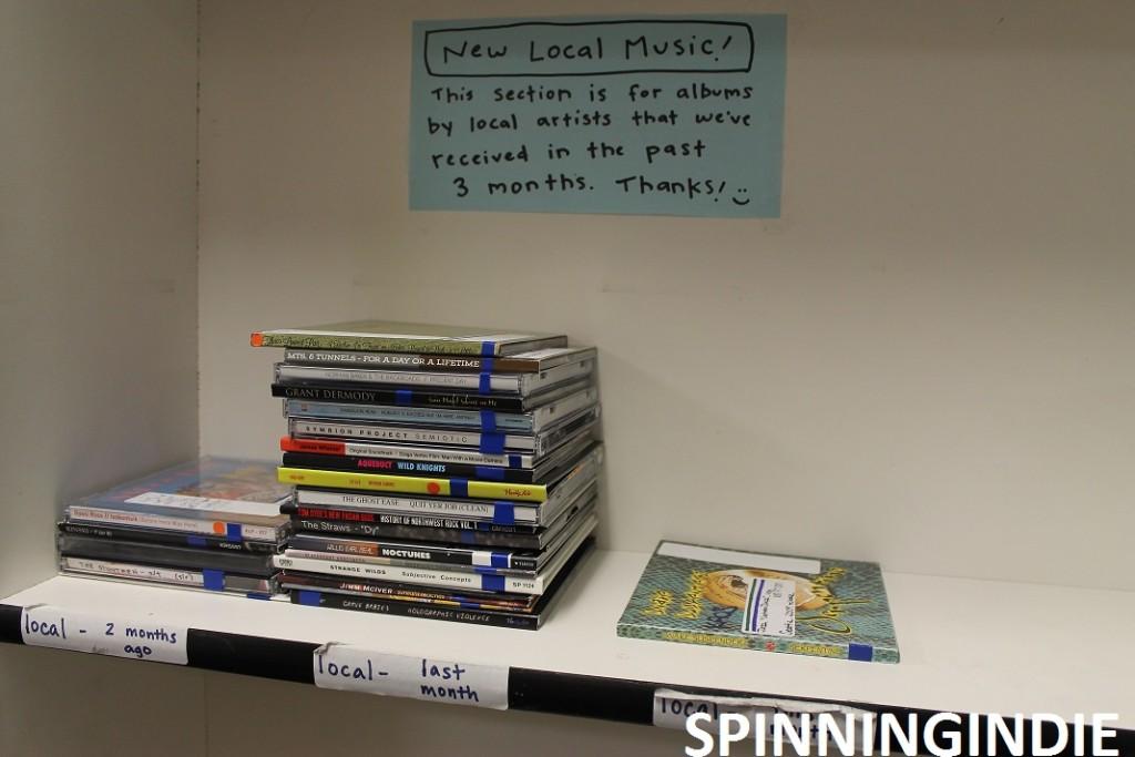 new local music at KAOS. Photo: J. Waits
