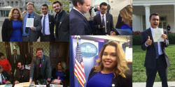 College Radio Day White House Montage. Photo credit: College Radio Day