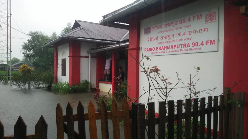 Radio Brahamaputra, flooded