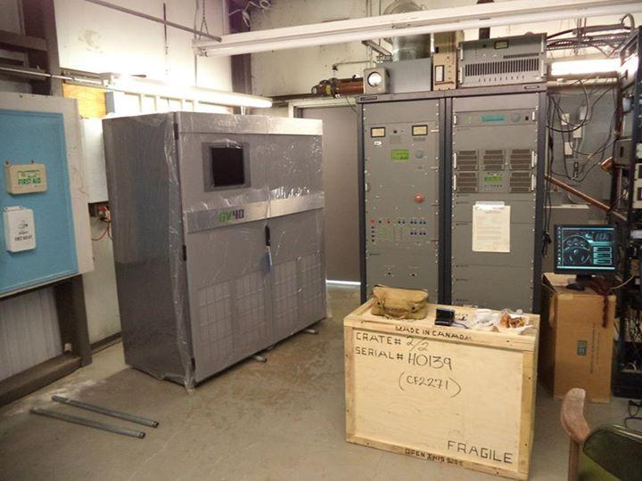 KPFT's new transmitter