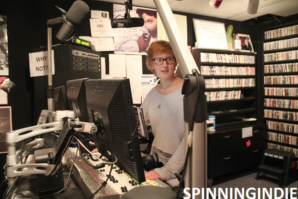studio at Radio K