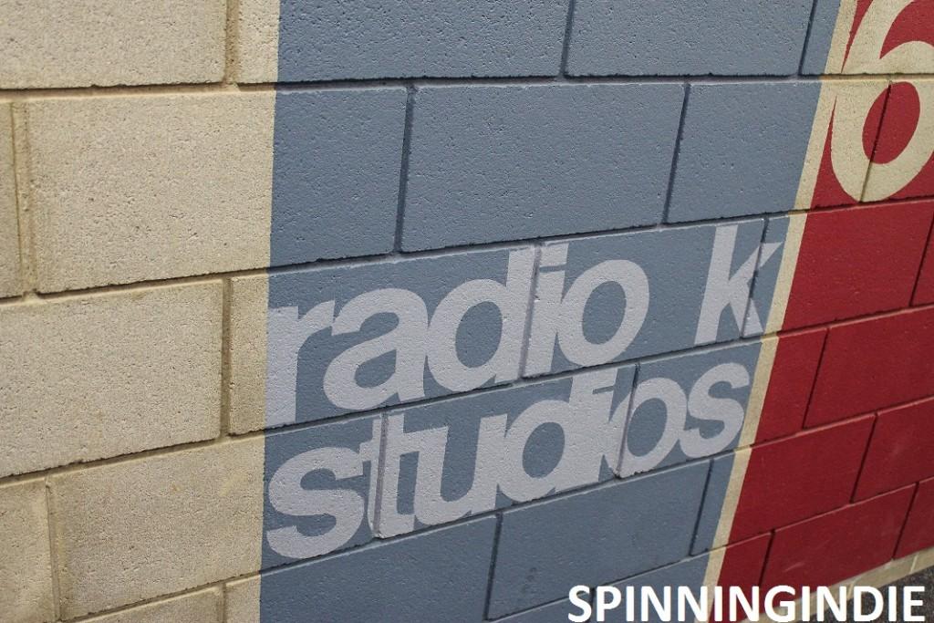 radio K studios sign