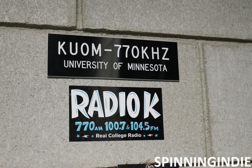 Radio K signs