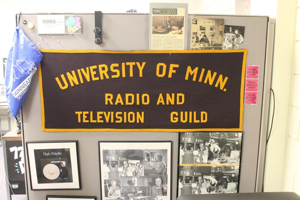 historical artifacts at radio K