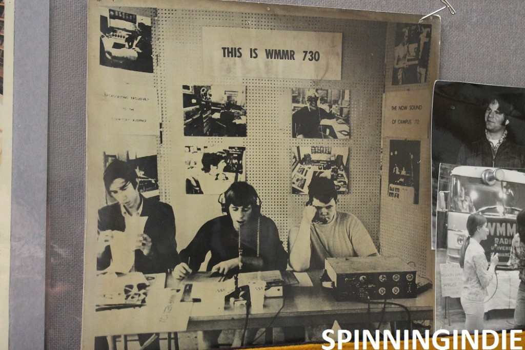 vintage photo of WMMR at Univ of Minnesota
