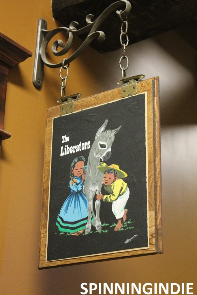 the Liberators sign near XRAY.fm. Photo: J. Waits