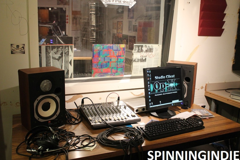 WMCN production studio. Photo: J. Waits