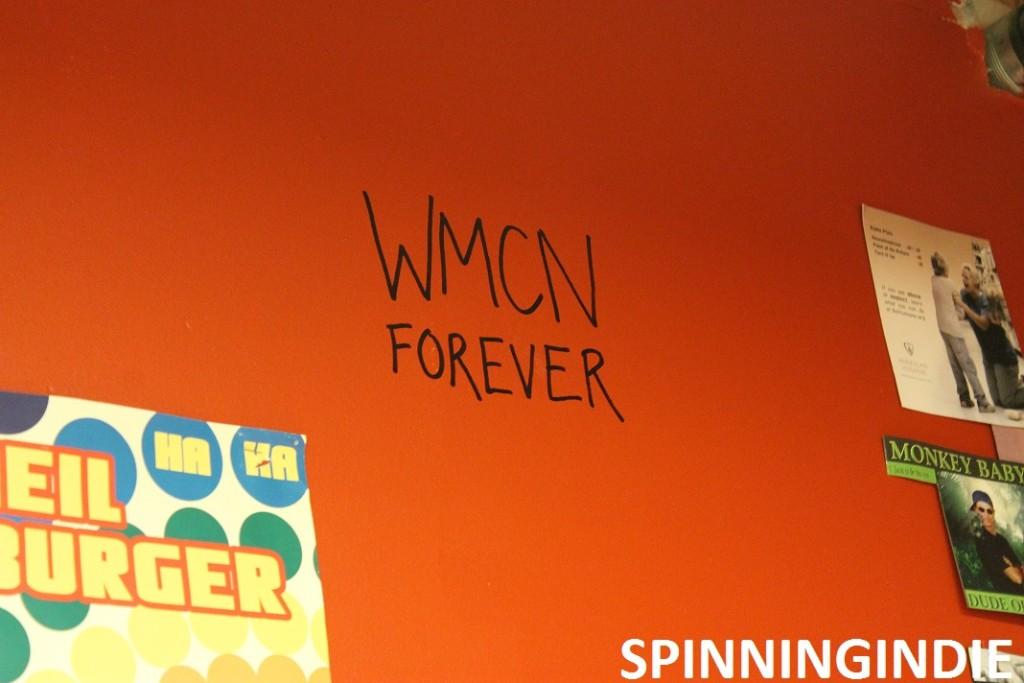 WMCN Forever graffiti at WMCN. Photo: J. Waits