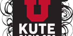 KUTE logo for college radio station KUTE