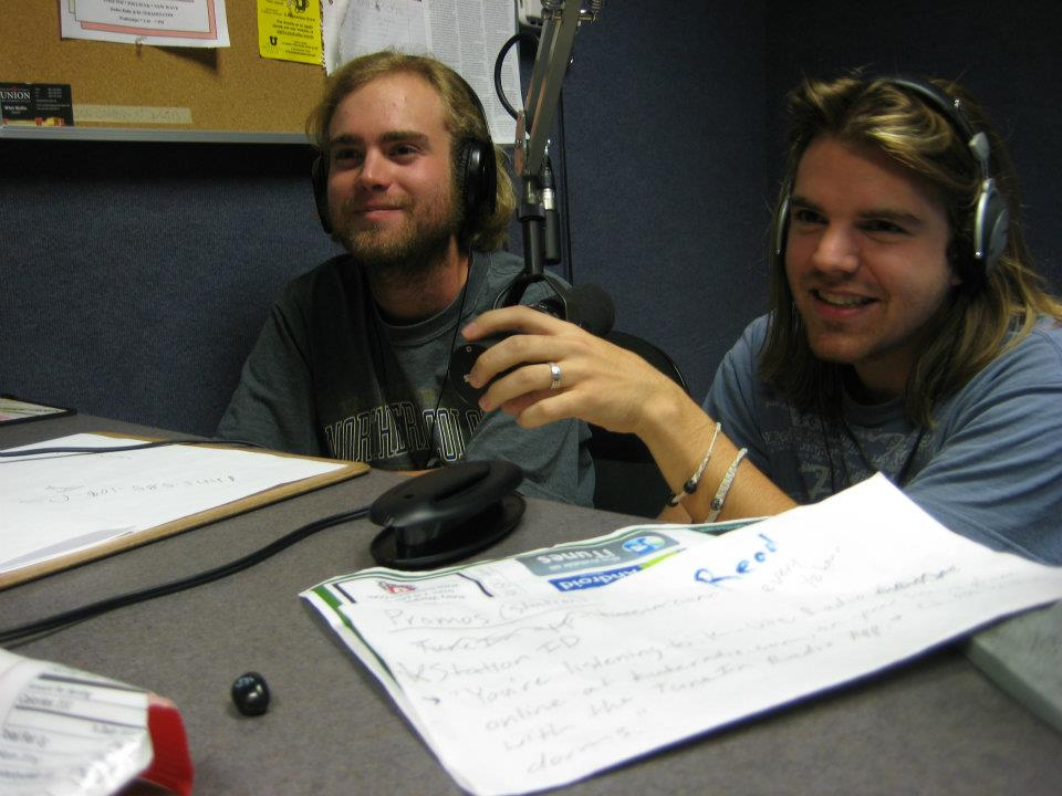 KUTE DJs on the Witching Hour show. Photo: E. O'Brien