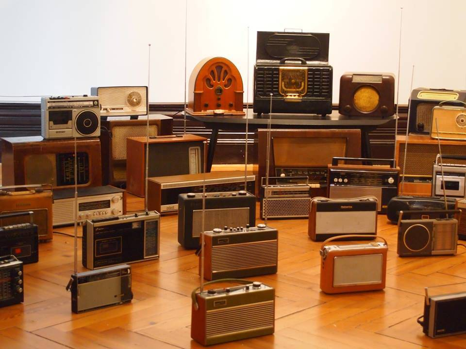 Radio Arts Showcase Radios. Photo: Magz Hall