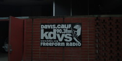 college radio station KDVS. photo: Jennifer Waits