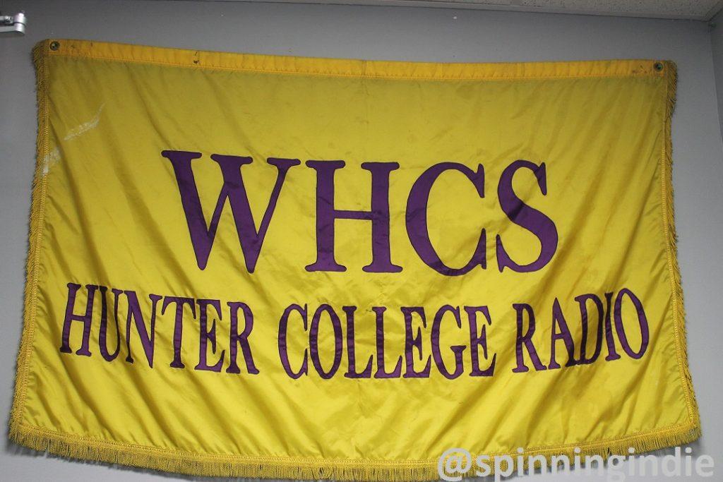 Banner at WHCS. Photo: J. Waits