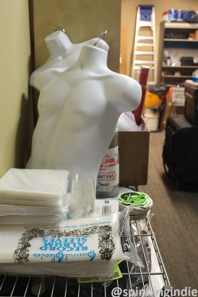 Mannequin at CHIRP Radio. Photo: J. Waits