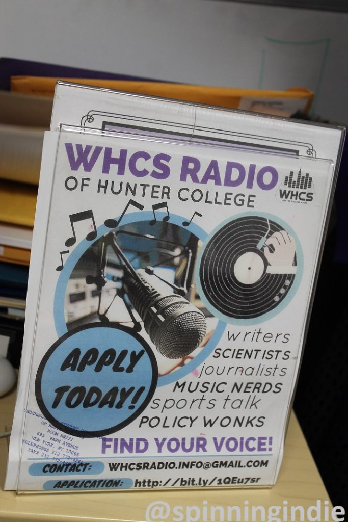 WHCS recruitment flyer. Photo: J. Waits