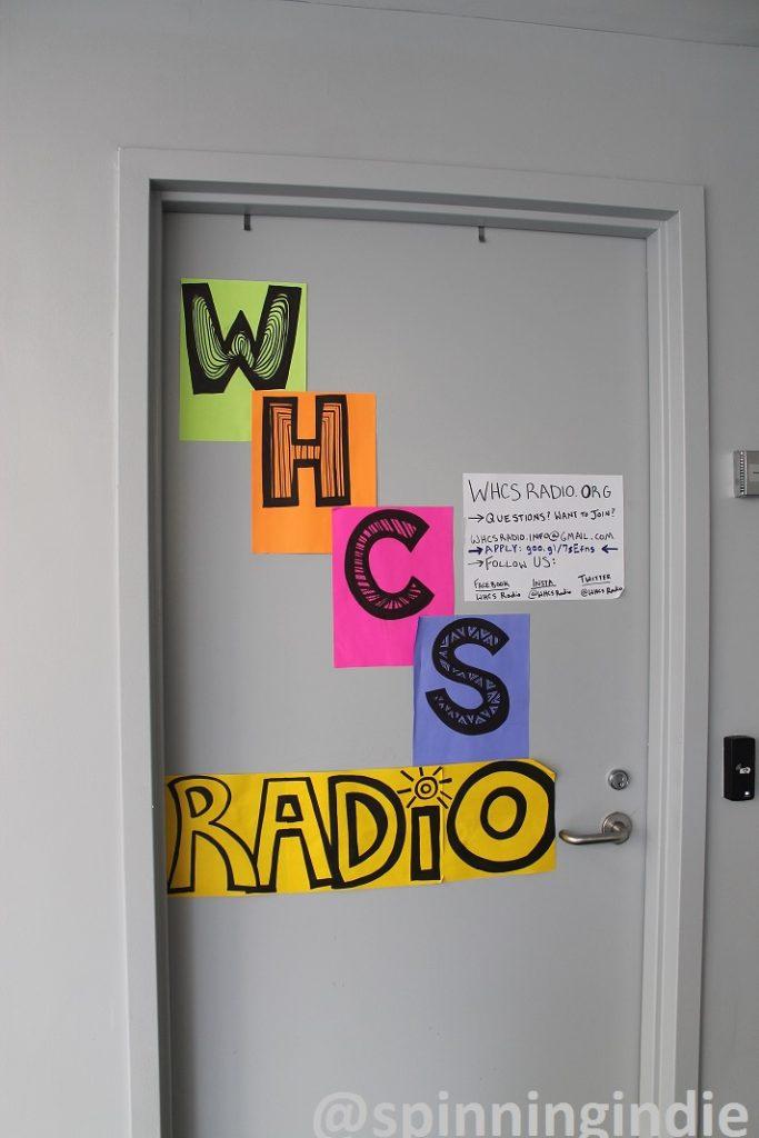 Entrance to WHCS Radio. Photo: J. Waits