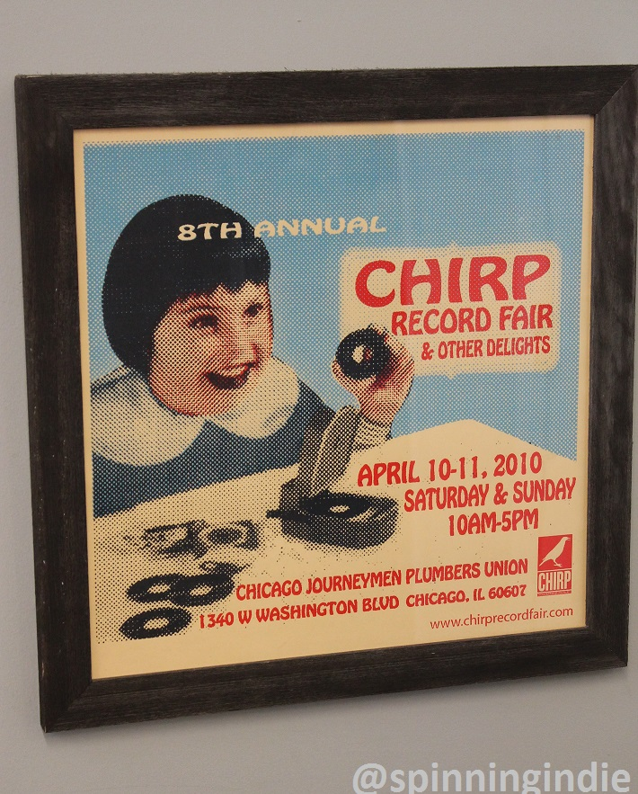 CHIRP Record Fair poster from 2010. Photo: J. Waits