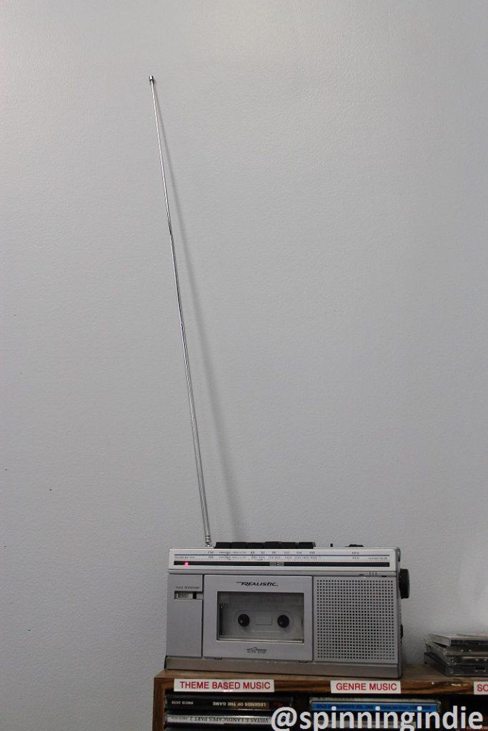 Radio at Arlington Independent Media. Photo: J. Waits