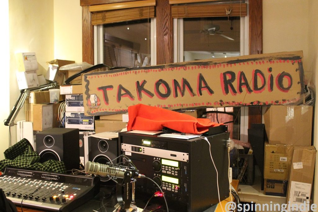 Takoma Radio's temporary headquarters in February, 2016. Photo: J. Waits