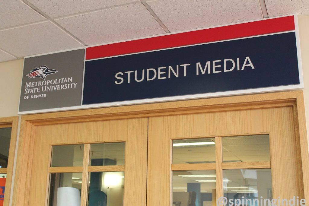 Student Media at Metropolitan State University of Denver. Photo: J. Waits