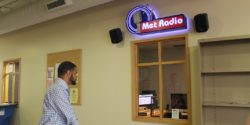 college radio station Met Radio. Photo: J. Waits