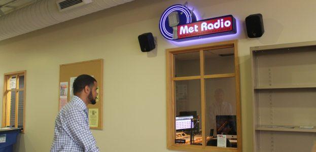 college radio station Met Radio. Photo: J. Waits
