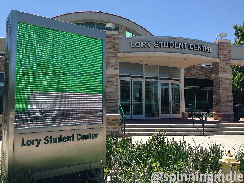 Lory Student Center at Colorado State University. Photo: J. Waits