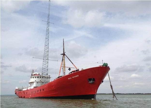 The Ross Revenge at Bradwell | Steve Anthony/Maritime Journal