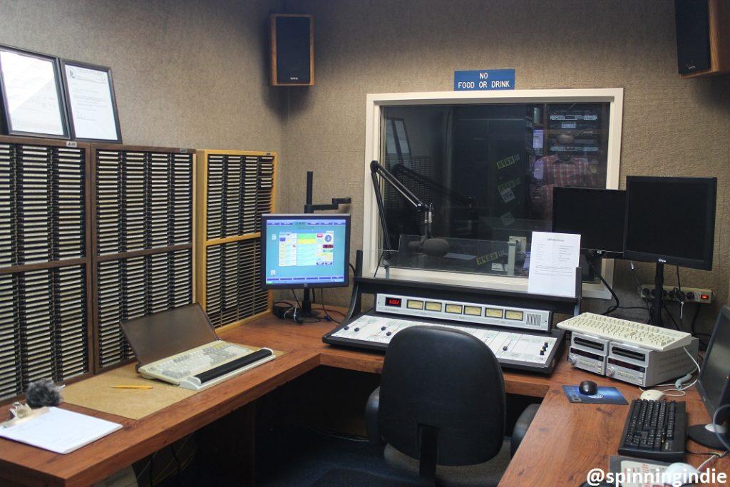 KBPK on-air studio. Photo: J. Waits