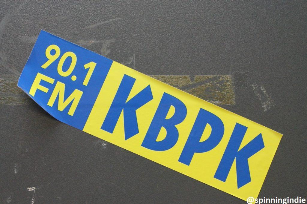KBPK sticker. Photo: J. Waits