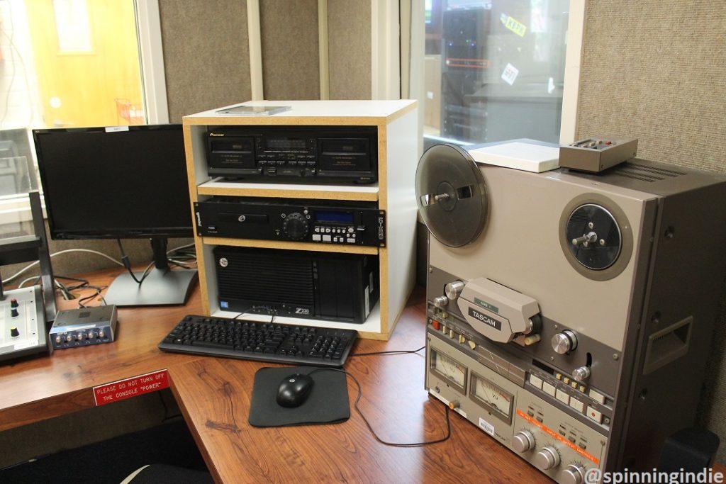 Reel-to-reel in KBPK studio. Photo: J. Waits