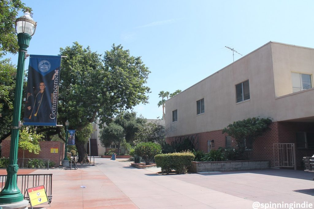KBPK's building at Fullerton College. Photo: J. Waits