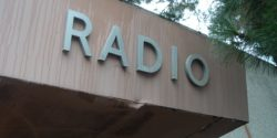 Radio sign at San Francisco State University. Photo: J. Waits