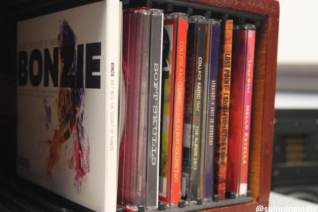 CDs at WCAS. Photo: J. Waits