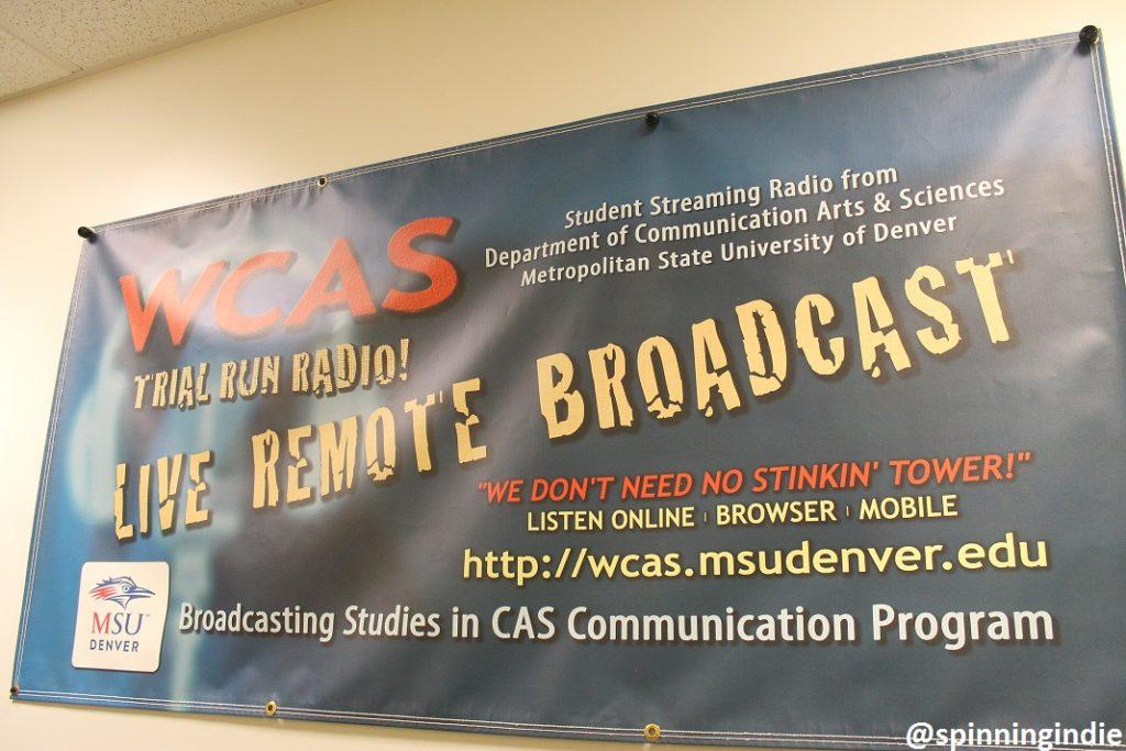 WCAS banner. Photo: J. Waits