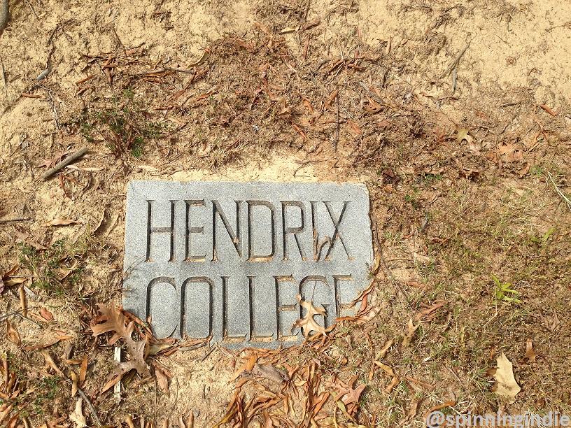 Hendrix College marker. Photo: J. Waits