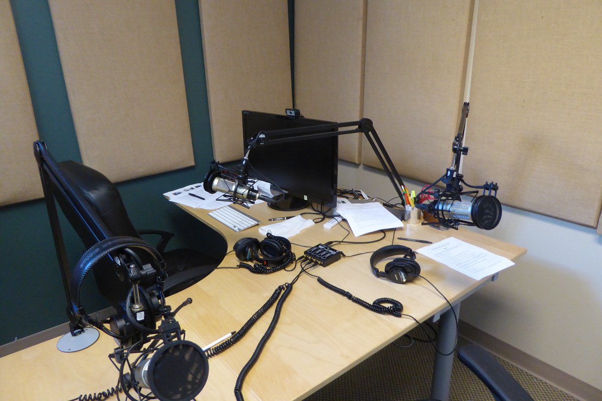 BCB podcast studio