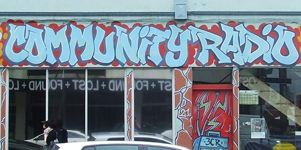 community-radio-graffiti-style-sign